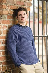 ribbed crochet mens sweater pattern