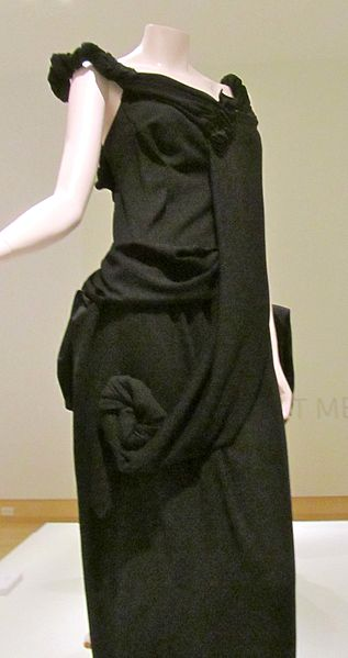 1998 yamamoto polyester gown