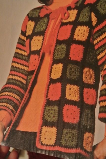 1975 Crochet Granny Squares