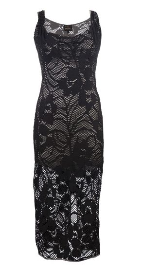 westwood anglomania crochet dress