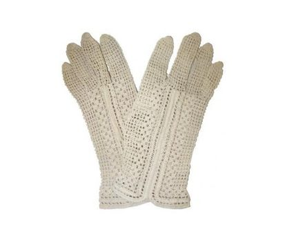 ysl crochet gloves