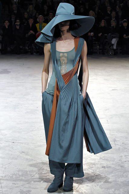 Fashion Designer Yohji Yamamoto