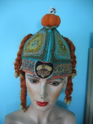 crochet art hat reed