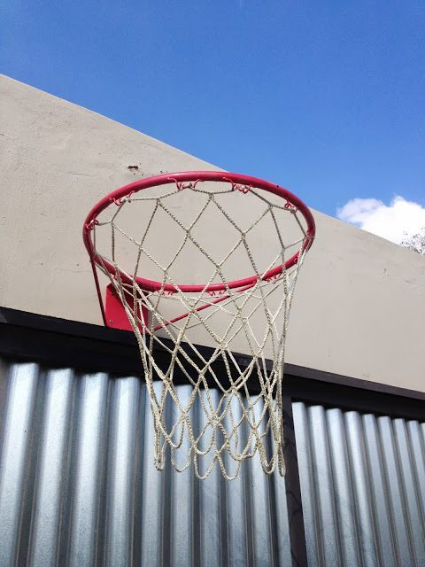 Haak basketbal net