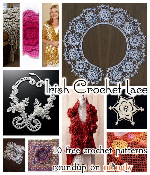 irish lace crochet patterns Link Love: This Week in Crochet Blogging including Free Crochet Pattern Links