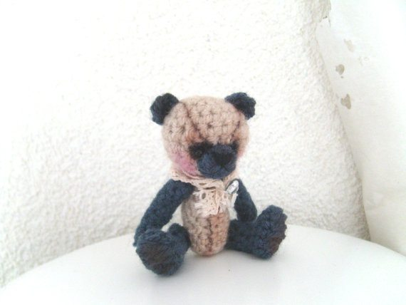 miniature crochet bears