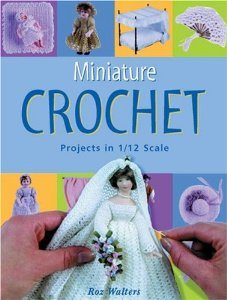 miniature crochet book
