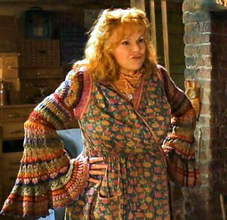 molly weasley crochet sweater Examples of Crochet in TV and Movies