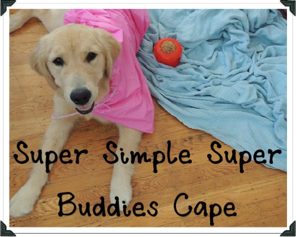 Post image for Super Simple Super Buddies Cape with Crochet Cord