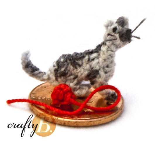 super small crochet 20+ Amazing Examples of Teeny Tiny Crochet and Amigurumi