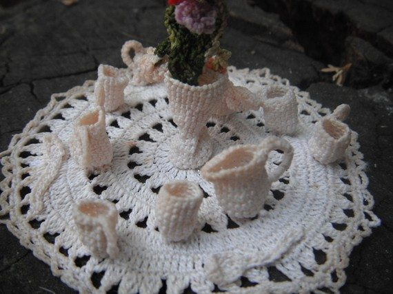 vintage crochet miniatures 20 More Examples of Extreme Tiny Crochet