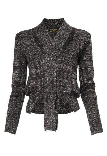westwood knit cardigan Designer Crochet: Vivienne Westwood