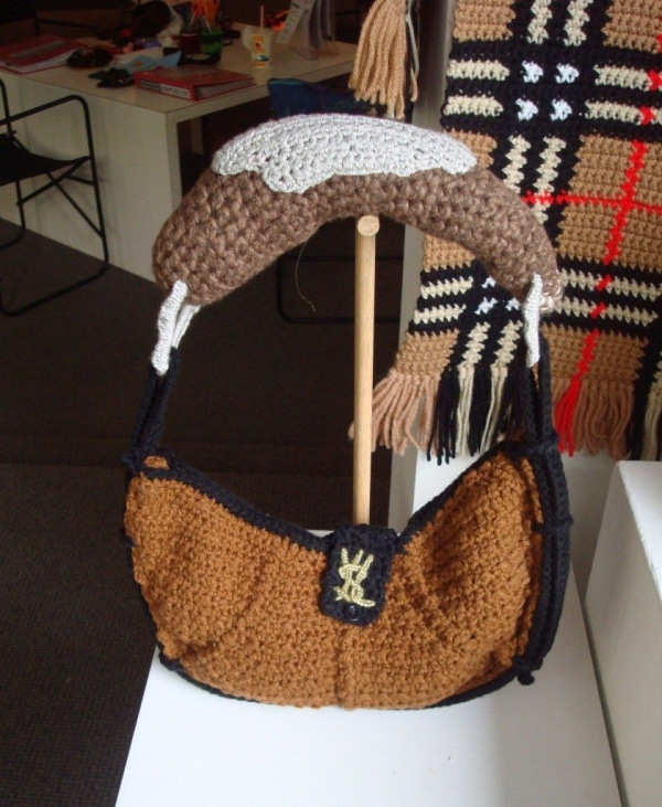 ysl crochet counterfeit purse