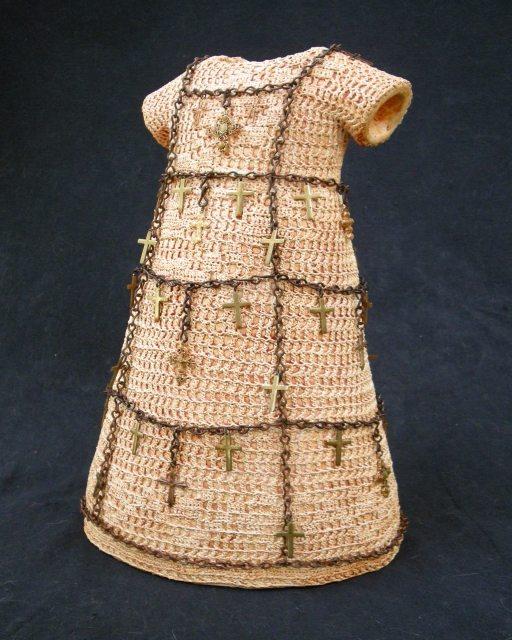 crochet art dress