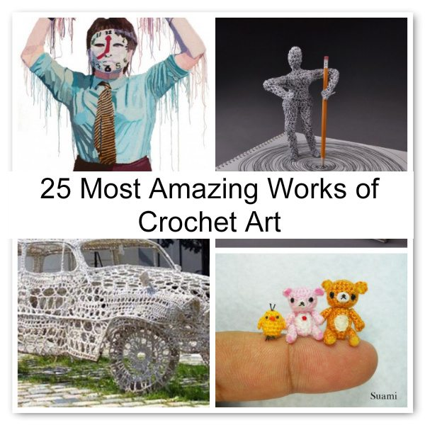 amazing crochet art
