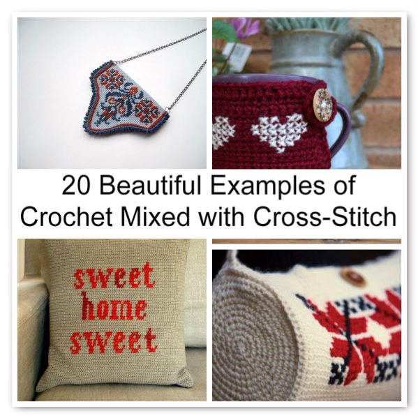 crochet and cross stitch Crochet Blog Roundup: September in Review