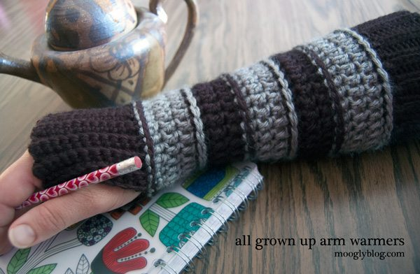 crochet arm wamers Sponsor Love: Moogly Blog Crochet Patterns, Tutorials and More