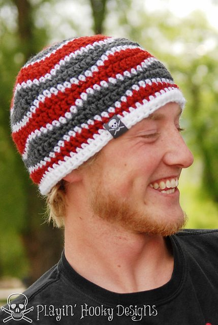 Shell Stitch Crochet Beanie