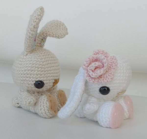 crochet bunny pattern 600x567 25 Most Popular Free Crochet Patterns