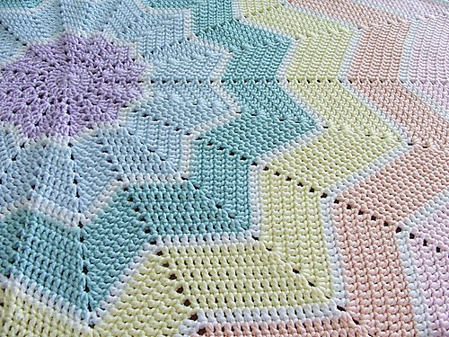 crochet ripple blanket 25 Most Popular Free Crochet Patterns