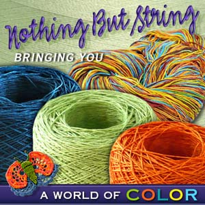Post image for Beautiful Crochet Thread Giveaway from Nothing but String