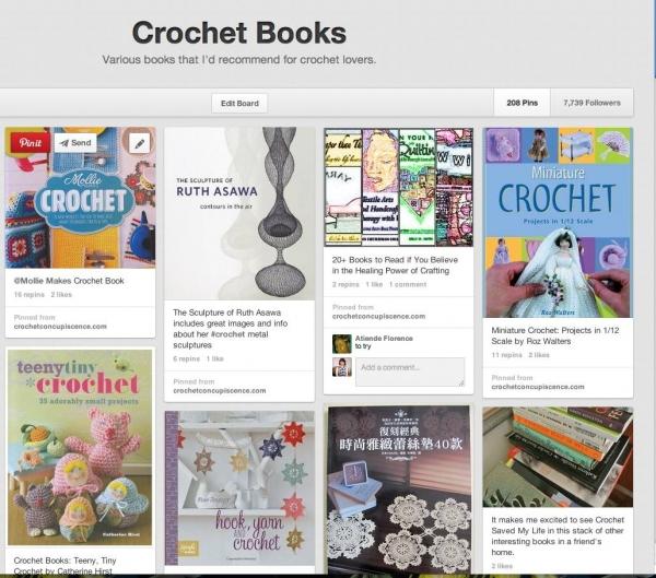 pinterest crochet books
