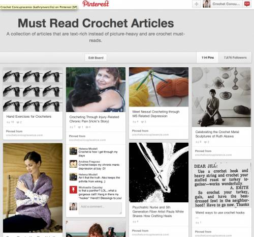 crochet articles
