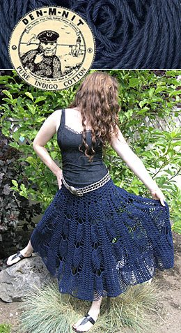 crochet pineapple skirt 10 Beautiful Crochet Skirts, Spotlighted on Pinterest