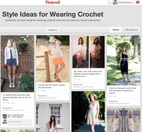 Post image for 365 … or 10 Style Ideas for Wearing Crochet