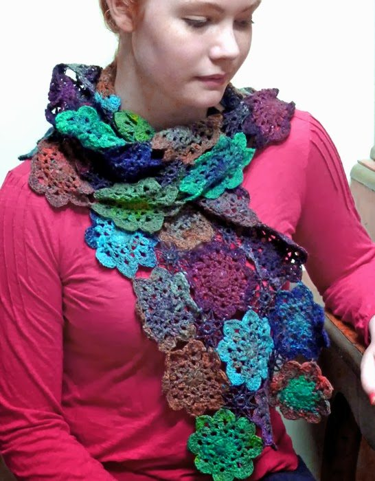 10 Examples Of Crochet Scarves From Pinterest Crochet