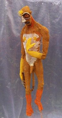 crochet sculpture