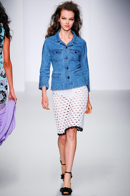 crochet skirt Sister by Sibling Spring 2014 Crochet
