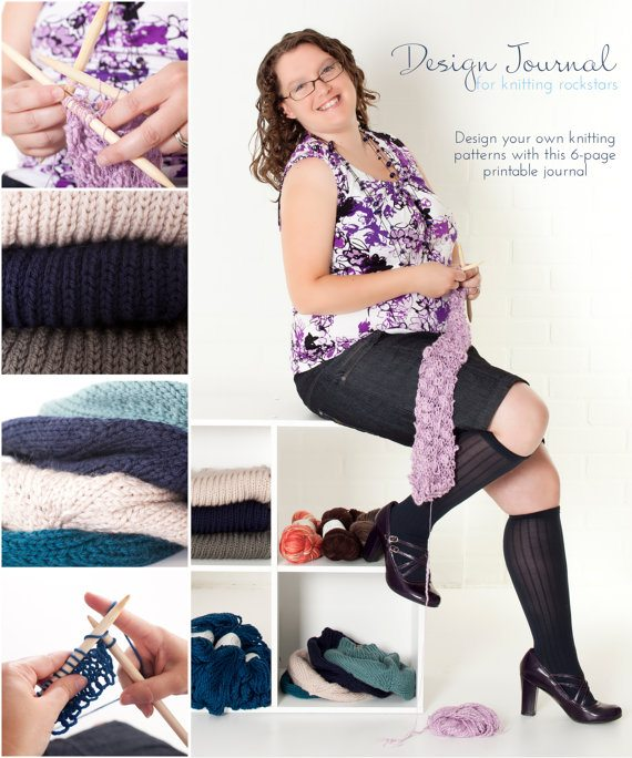 design journal Crochet Rockstars Design Journal