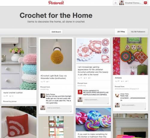 pinterest home crochet