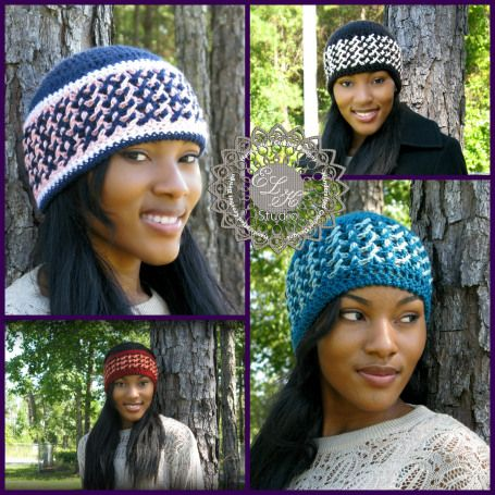 crochet beanie 10 Beautiful Crochet Hats, a Pinterest Selection