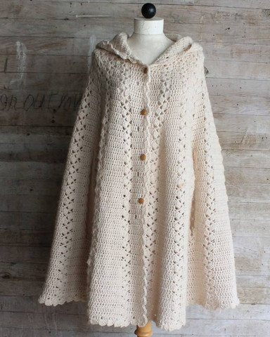 crochet cape pattern