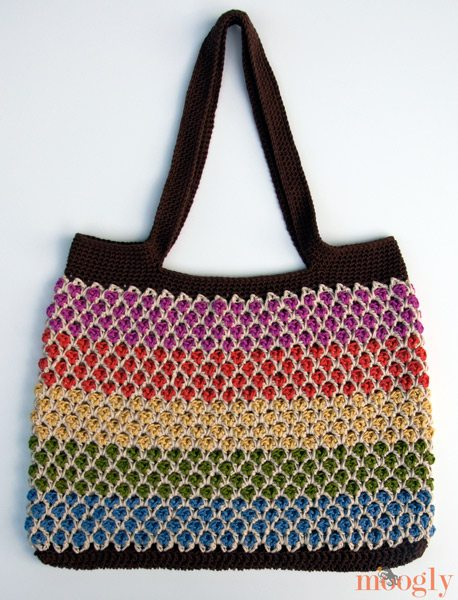 Crochet Tote Pattern : 10 Beautiful Crochet Purses and Bags