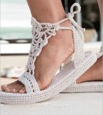 hemp crochet shoes 10 Gorgeous Examples of Crochet Shoes
