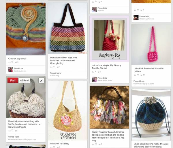 Post image for 10 Beautiful Crochet Purses and Bags