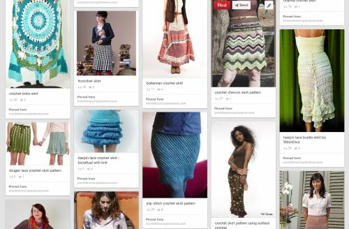 Post image for 10 Beautiful Crochet Skirts, Spotlighted on Pinterest