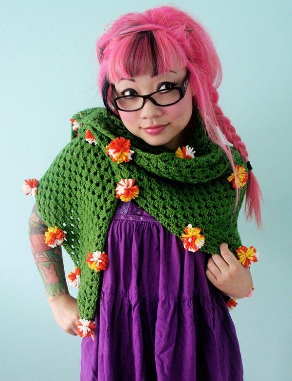 twinkie chan crochet shawl