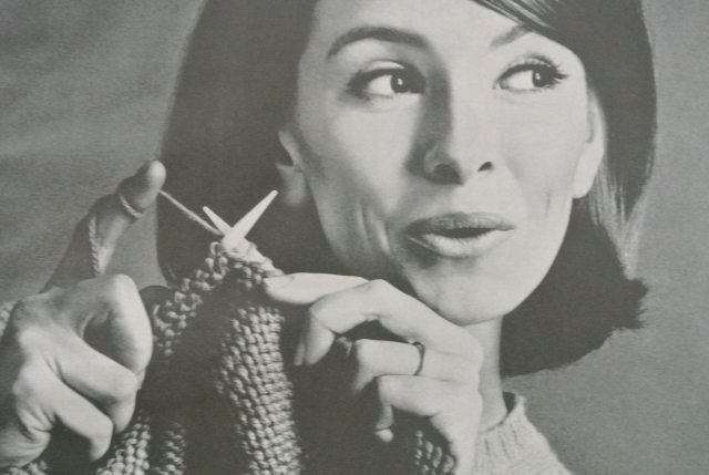 Old Knitting Pictures : Vintage knitting