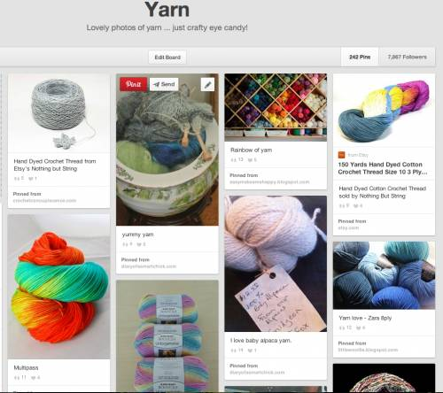 Post image for 10 Beautiful Photos of Yarn, a Pinterest Selection