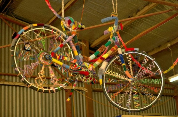 yarnbomb bike