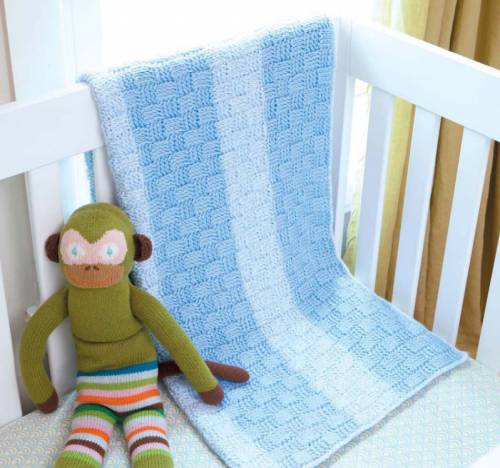 basketweave crochet baby blanket Tunisian Crochet Baby Blankets eBook Review