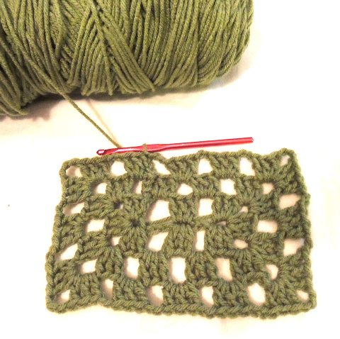 crochet granny rectangle Crochet Blog Roundup: January in Review