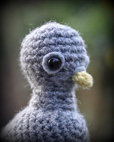 crochet pigeon pattern