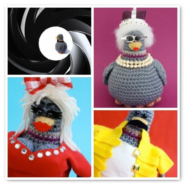 crochet pigeons 600x600 Lets Explore a World of Crochet Pigeons