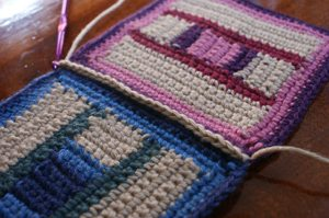 crochet single crochet join crochet squares