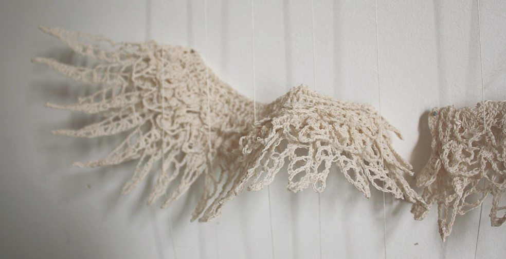 Crochet Pattern Angel Wings : crochet wings